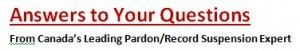 Pardon Application Questions