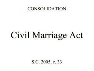 Civil Marriage Act